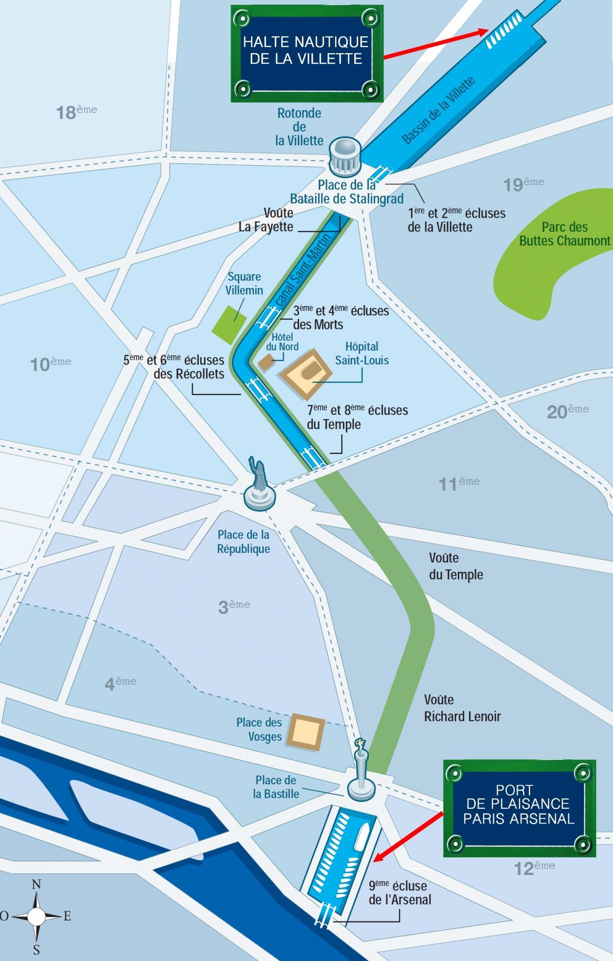 2a les ports localisation