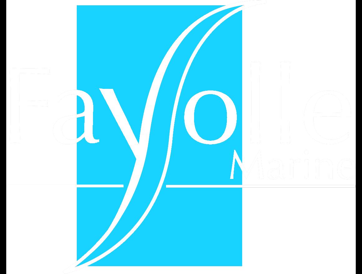 Logo fayolle marine blanc