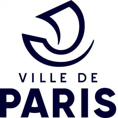 Logo ville de paris blanc
